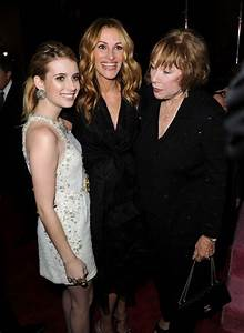 Helen Mirren: julia roberts and emma roberts together