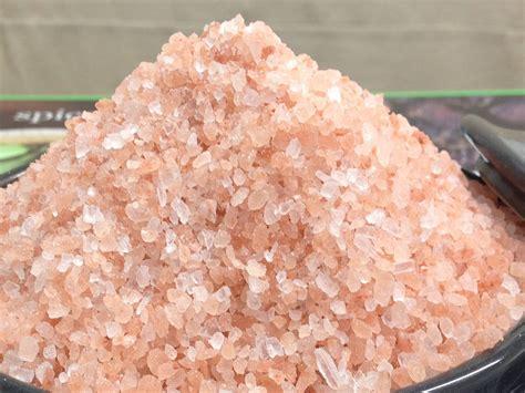rock salt l himalayan pink rock salt coarse ground the spiceworks
