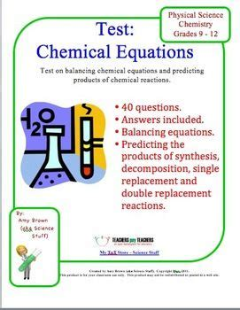 pin on chemical equations and stoichiometry