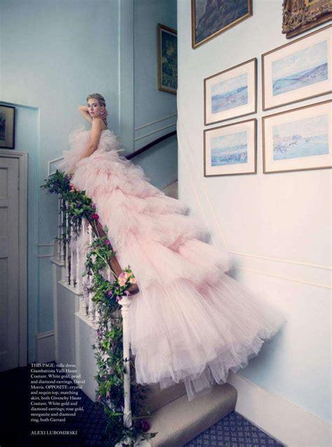 Vanessa Kirby: Harpers Bazaar UK 2018   Haute couture ...