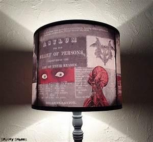Abat Jour Original : abat jour design original pour lampe poser asylum ~ Melissatoandfro.com Idées de Décoration