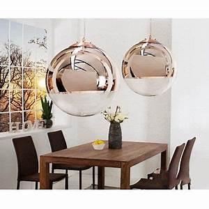 Pendelleuchte Kugel Kupfer : design h ngelampe kugellampe globe pendelleuchte glas kupfer lampen in 2019 hallway lighting ~ Fotosdekora.club Haus und Dekorationen