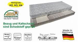 Matratze 80 200 : sam 7 zonen kaltschaum h4 visco matratze 80 x 200 cm passion ~ Eleganceandgraceweddings.com Haus und Dekorationen