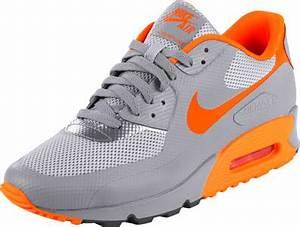 Nike Air Max 90 HYP PRM Schuhe grau neon orange
