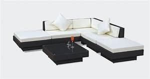 Canapé Jardin Pas Cher : canap ext rieur pas cher ekipia ~ Premium-room.com Idées de Décoration