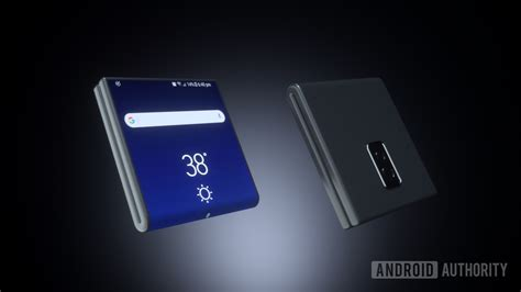 this is how the galaxy x s folding design could work