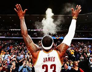 LeBron James GAME READY - CHALK TOSS Cleveland Cavaliers ...