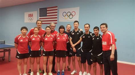 Athletes from china have dominated the sport, winning a total of 54 medals in 33 events, including 28 out of a possible 33 gold medals, and only failing to at least medal in one event, the inaugural men's singles event at the 1988 summer olympics. USA Table Tennis Team at Houston - Golden Palm ...
