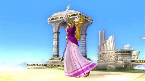princess zelda ocarina  time super smash bros wii