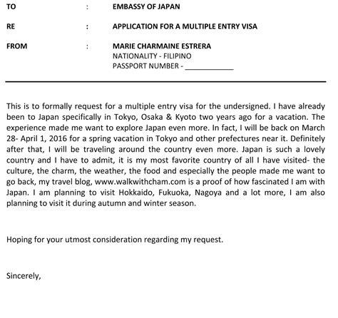 walk  cham   apply  multiple entry visa