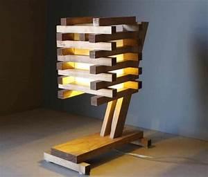 6 Tipos de Lámparas hechas de pallets y madera que puedes