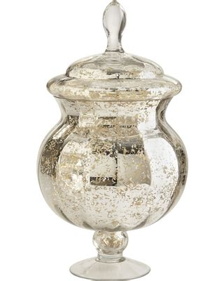 check out these bargains on large mercury glass apothecary jar