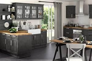 Deco cuisine campagne cote maison for Idee deco cuisine avec meuble style contemporain