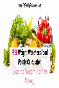 Smart Points Budget Berechnen : free weight watchers food points calculator fit family finances ~ Themetempest.com Abrechnung