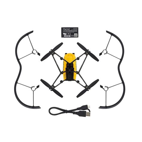 parrot airborne cargo drone travis yellow pf drones direct
