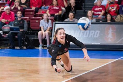 stanford women survive meltdown  top  volleyball