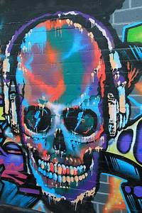 Skull And Crossbones Graffiti Wall  U00b7 Free Photo On Pixabay