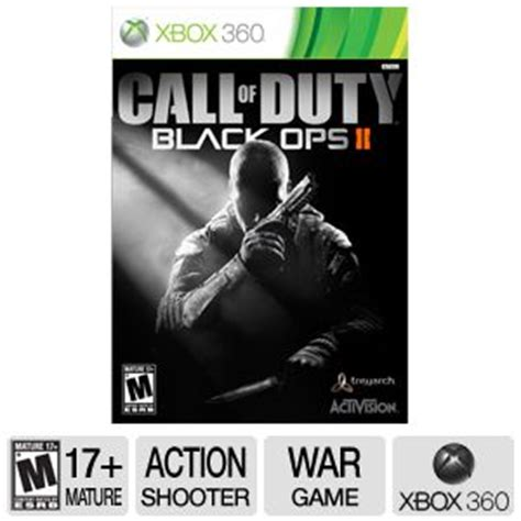 m xbox 360 games activision call of duty black ops 2 3293990 xbox 360 ersb m shooter at tigerdirect