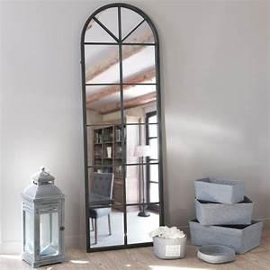 Meuble industriel maison du monde charming meuble for Charming meubles tv maison du monde 10 miroir de style industriel design