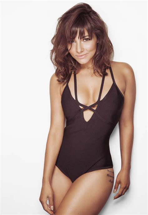 roxanne pallett swimsuit roxanne pallett turns swimwear seductress as she swaps