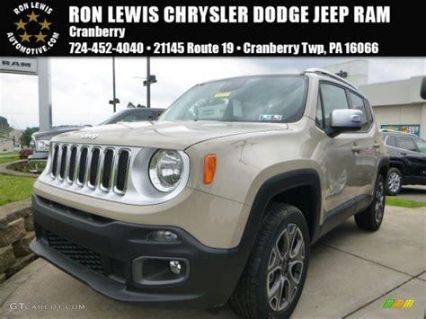 mojave jeep renegade 2015 mojave sand jeep renegade limited 4x4 105051518