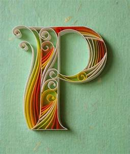 Paper, Quilling, Typography
