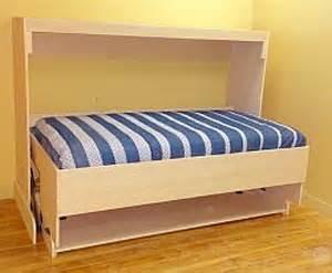 splendid twin horizontal murphy deskbed hiddenbed usa
