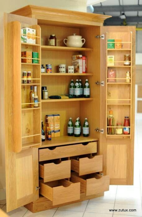 Kitchen Storage Cupboards by Larder Cupboard Organizing For A Better In 2019