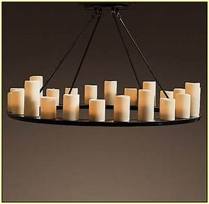 diy hanging candle chandelier home design ideas With kitchen cabinets lowes with hanging hurricane candle holders