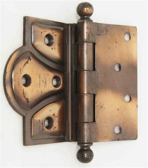 antique door hardware antique copper plated butterfly hinge olde things