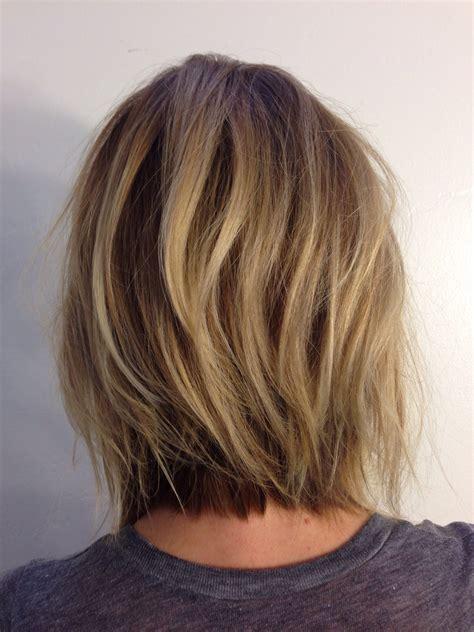 andreamillerhair neck length layers hair cut