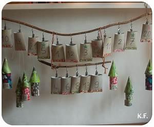 Calendrier Avent Rouleau Papier Toilette : calendrier d 39 avent fait maison kameleon factory ~ Farleysfitness.com Idées de Décoration