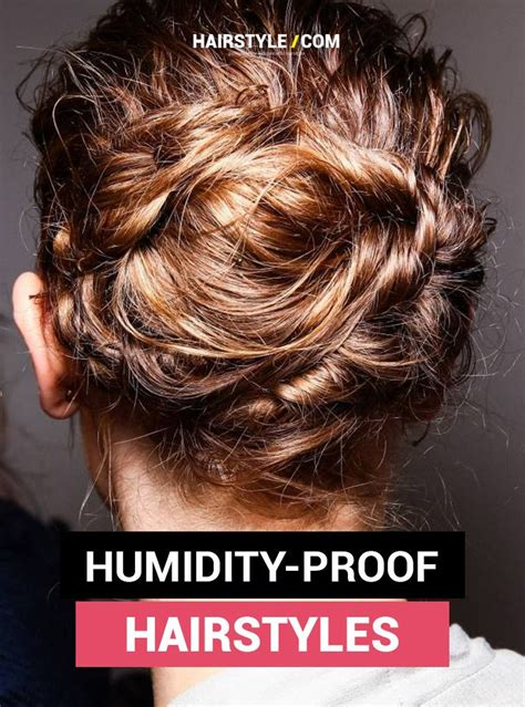 5 easy humidity proof hairstyles hair tutorials