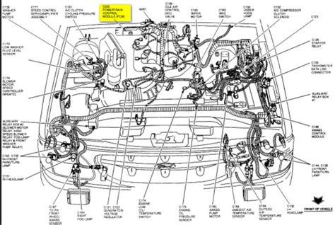 Ford Tauru Engine Sensor Wiring Diagram by 2004 Ford Taurus O2 Sensor Location Wiring Diagram And
