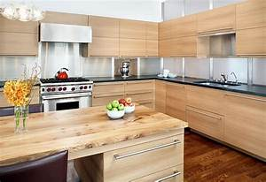 Modern all wood kitchen furniture and cabinets - Decoist