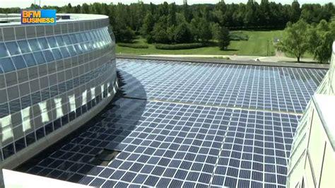 siege bouygues nouveaux panneaux solaires pour challenger le siège de