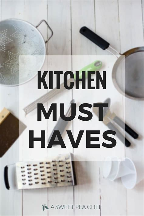 kitchen must haves aspc s kitchen must haves a sweet pea chef