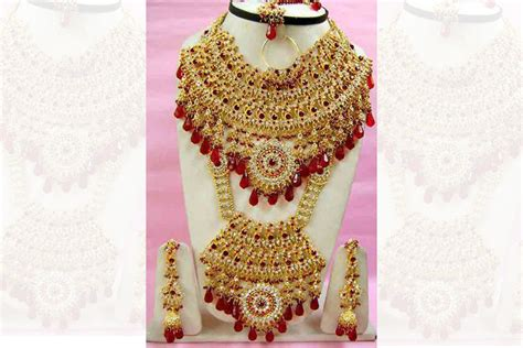 6 best stores for the best artificial bridal jewellery online