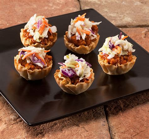 You can make this in the food processor or. Athens Foods | Mini Sloppy Joe Phyllo Cups | Simple Appetizers