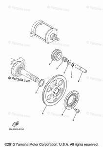 Yamaha Atv 2004 Oem Parts Diagram For Starter Clutch