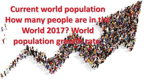 How Many Are In The World by Current World Population How Many Are In The