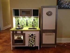 Ikea Duktig Rückwand : ikea duktig mini kitchen makeover added paint tile backsplash oven knobs and lighting our ~ Frokenaadalensverden.com Haus und Dekorationen