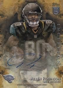 2014 Topps Inception Football Rookie Autographs Guide