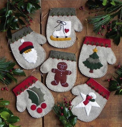 weekend kits blog felt christmas ornament kits diy tree
