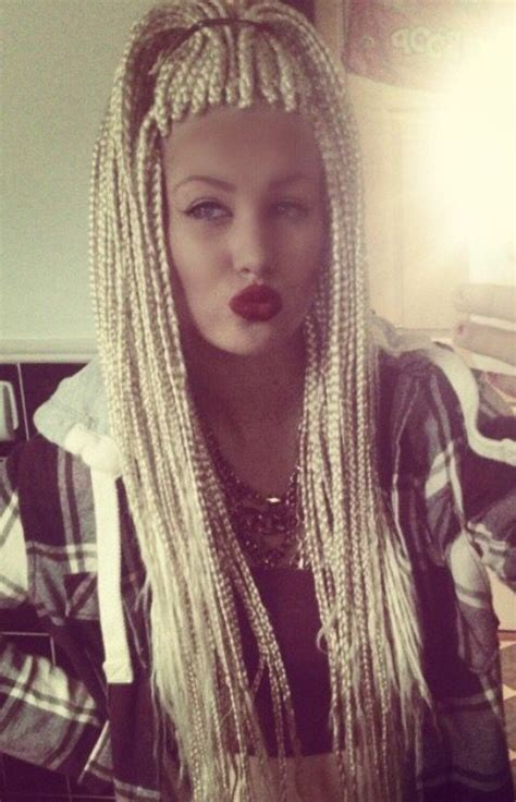 white girl braids crimp braids african braids