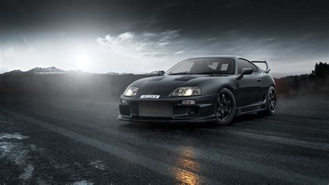 Customize your desktop, mobile phone and tablet with our wide variety of cool and interesting car wallpapers in just a few clicks! black toyota supra mk4 drift jdm hd JDM Wallpapers | HD ...