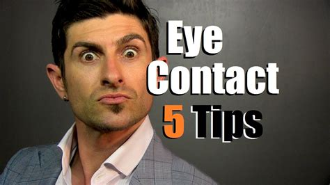 5 eye contact tips how to communicate with your