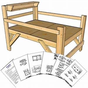 free plans for loft beds full-size Quick Woodworking