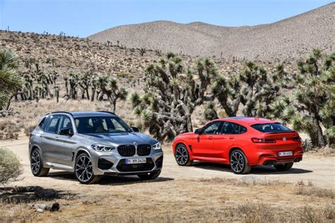 Bmw X3 M And X3 M Competition-- M Division