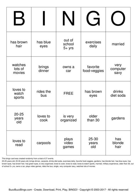 Icebreaker Bingo Cards to Download, Print and Customize!